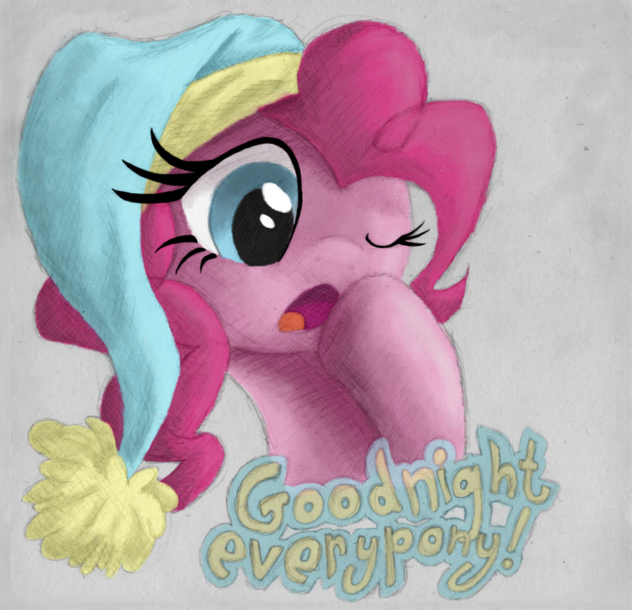 Goodnight Everypony! by Hewison