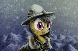 Frozen Fur Coat by Hewison