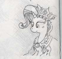 Princess Platinum sketch by Hewison