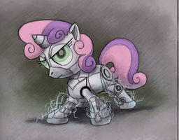 Charged up Sweetie Bot by Hewison