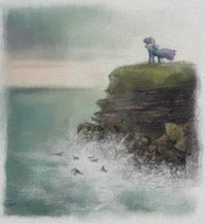 Maud Cliffs by Hewison