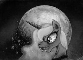 Spooky Moon Horse by Hewison