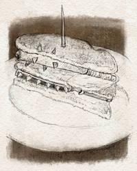 FFXI Warp and Kraken Club Sandwich