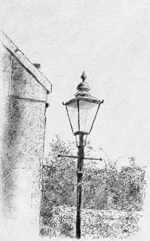 Lamp post study (Inktober 2019)