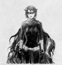 Black Bat Sketch