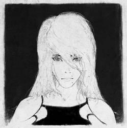 Nier Automata A2 portrait study