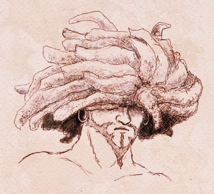 FF 9 - Amarant Study Sketch
