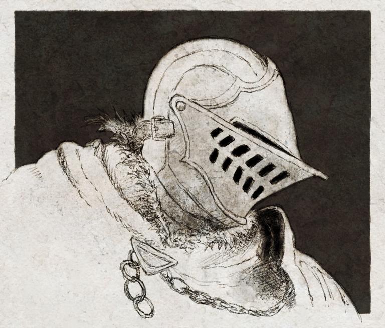 Oscar/Elite Knight Helmet Study