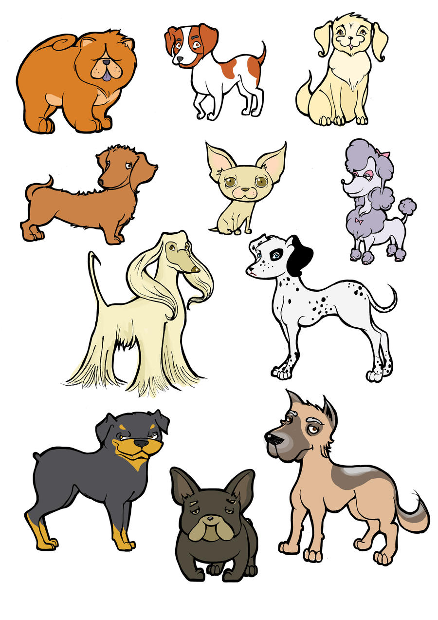 All Kinds Of Dogs By BerberP On DeviantArt