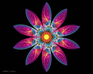 Neon Flower by whitt107