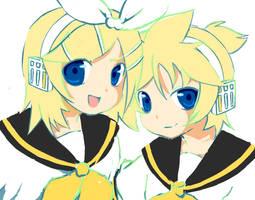 Vocaloid: Rin+Ren by patsumii-yuki