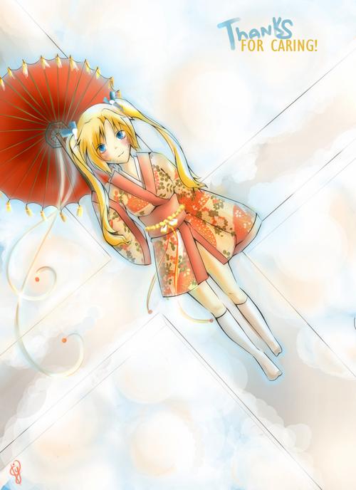 Naruko: Thank you by patsumii-yuki