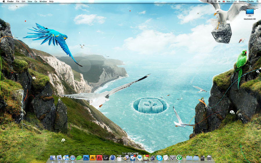 Desktop by Gustavs