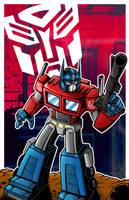 Optimus Prime by moobyj