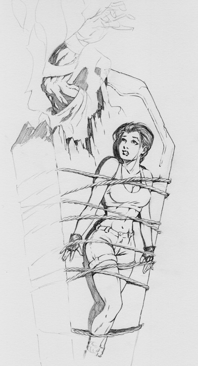 Tomb Raider Drawing by ColbyBluth on DeviantArt