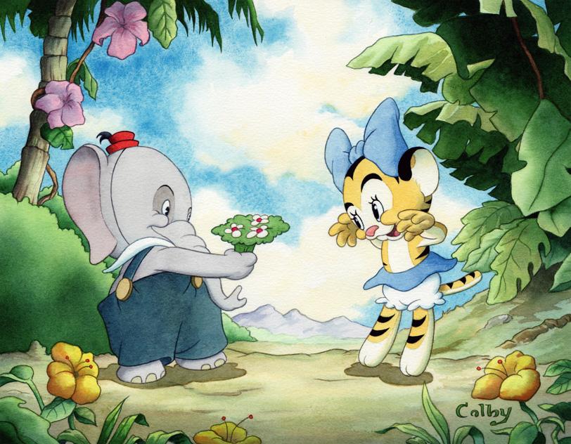 Elmer Elephant by ColbyBluth