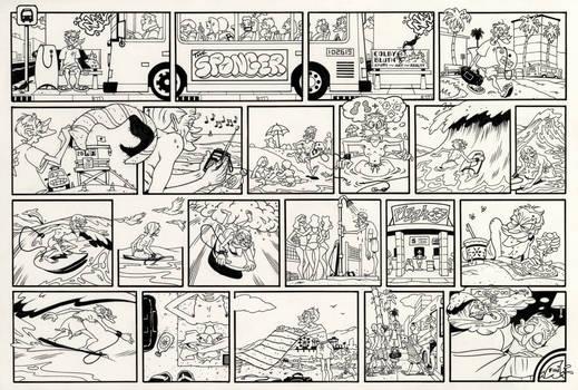 Inktober #26 The Sponger