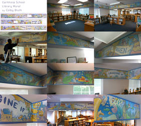 Carlthorp Library Mural