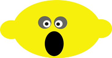 Shocked Lemon by kephart-design