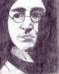 JOHN LENNON by GreenTeaIceCream007