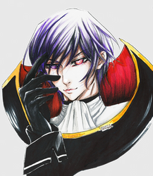 Code Geass: Lelouch Lamperouge by thenzcchi