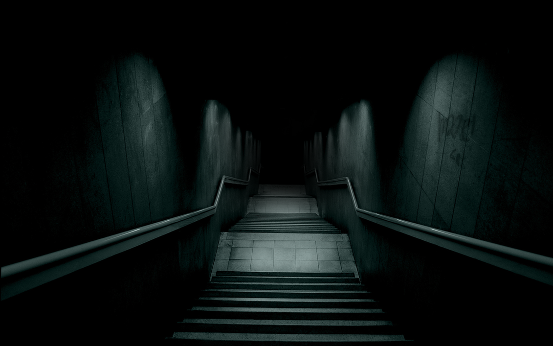 Dark Hallway by Mrlinen on DeviantArt