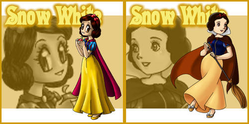 Patch Redux: Snow White by Street-Angel