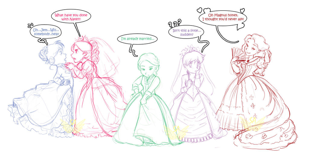 Clockwork Prince - New Art  New Light On Clockwork Princess Teaser    Will And Tessa Clockwork Princess
