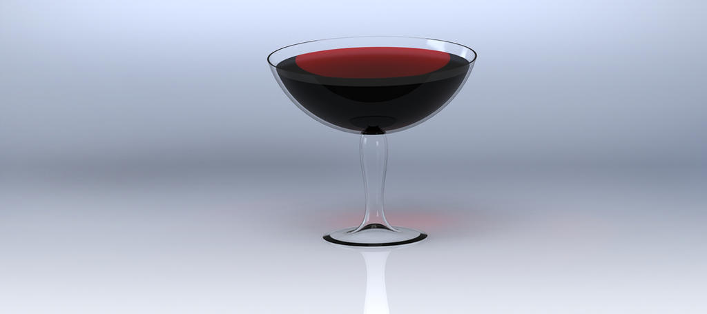 Wine Glass by EvilHateYouAllStock