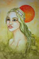 Seaweed woman by sofieoldberg
