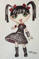 Chibi Abby by sofieoldberg
