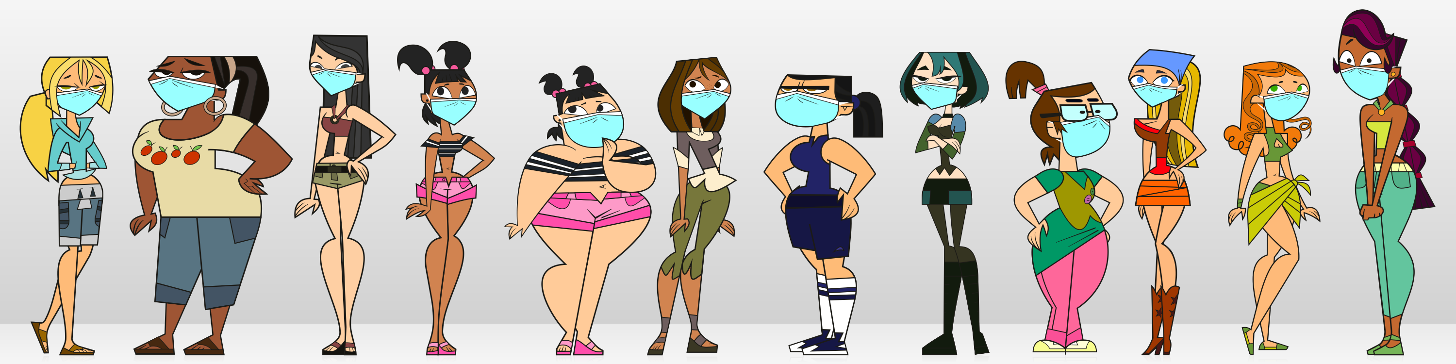 from Kalel all total drama island girls naked