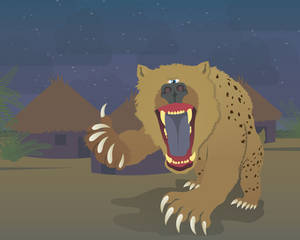 Monsters of Today - Nandi Bears