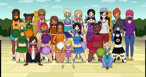 A masked get-together