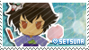 Setsuna stamp by Floryblue12