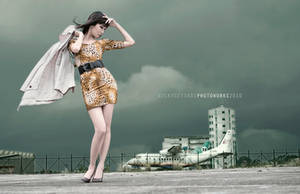 Lady Godzilla by NickySetiadi