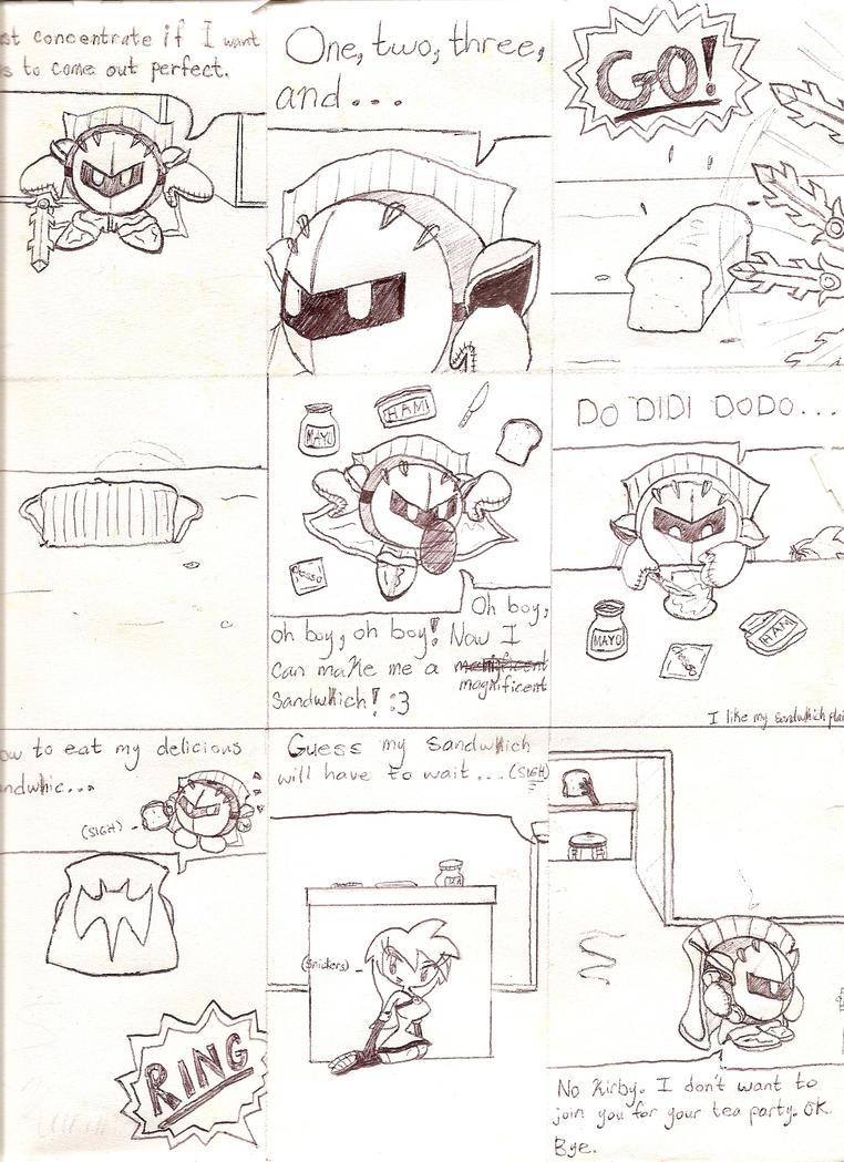 Meta Knight And Kirby Comics Meta Knight and Kurima...