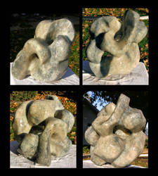 Alabaster Sculpture collage