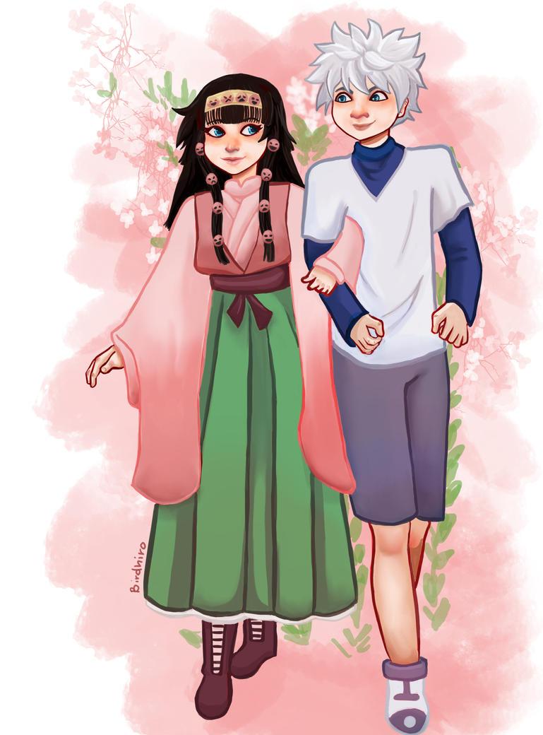 Killua and Alluka by SozoArtist
