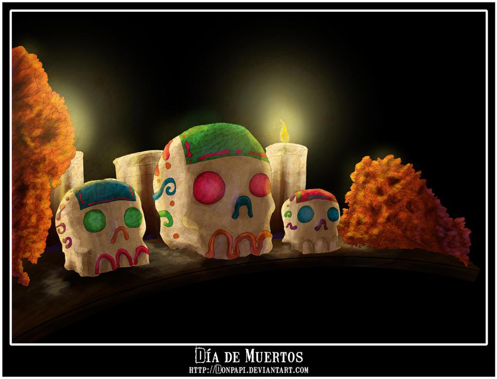 Dia de Muertos by DonPapi
