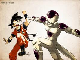 Goku vs Freezer by DonPapi