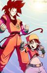 Pan y Goku
