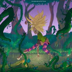 Commission - Mutant Cornelia-