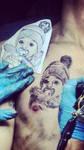 Sweet Little Girl - tattooed by PreciliaNHawa