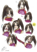 Ling Tong's expressions by Black-Orochimaru