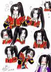 Kojiro's expressions