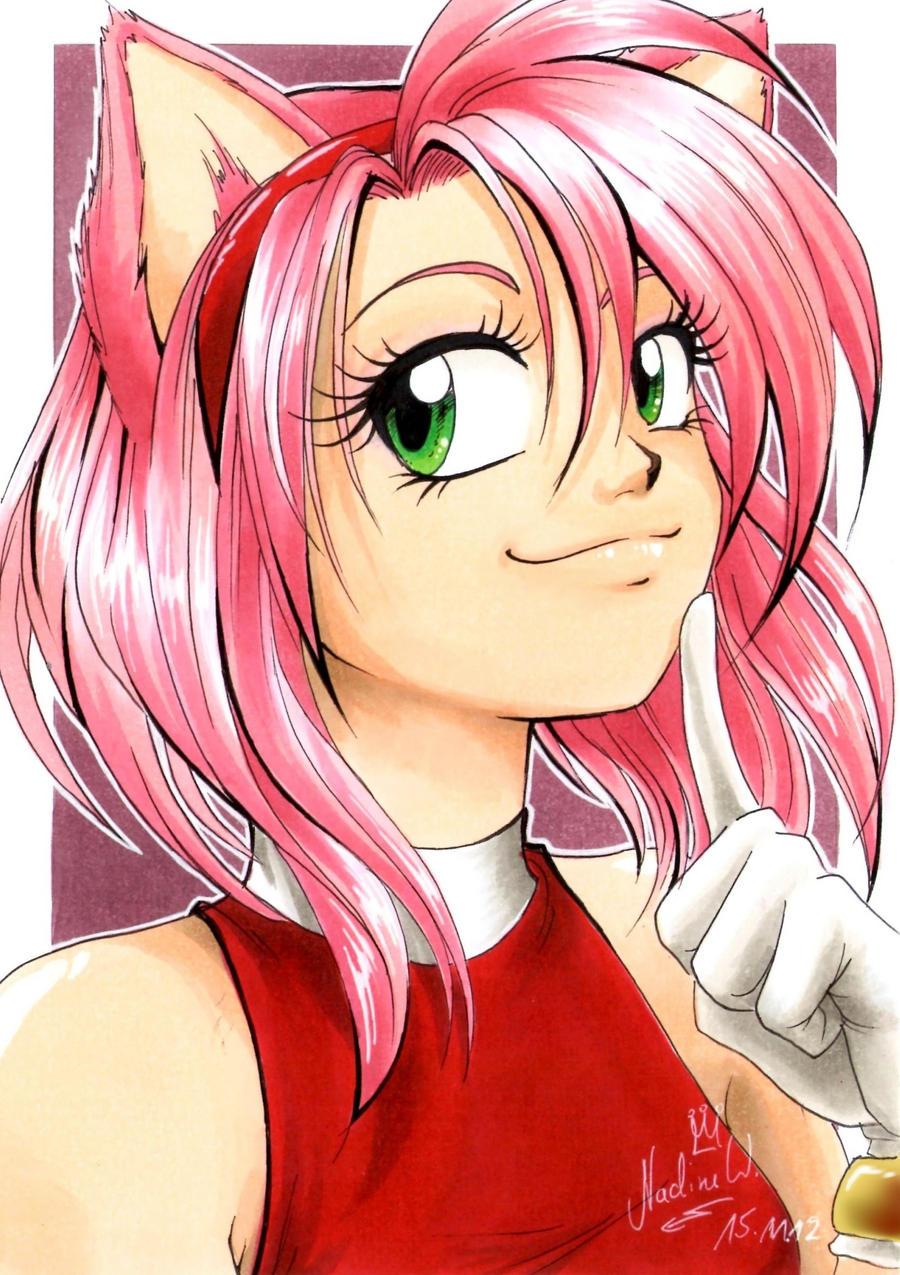 Amy rose human form - photo#5