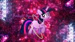 Twilight Sparkle Stars Galore