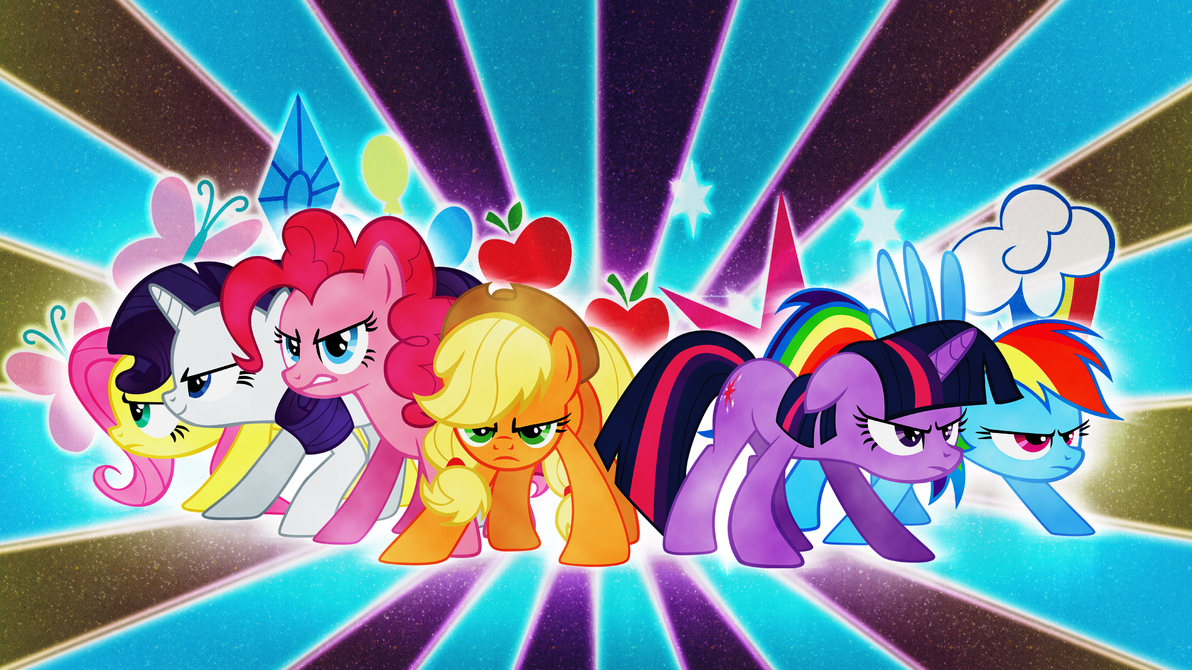 android mane 6 wallpaper - photo #42