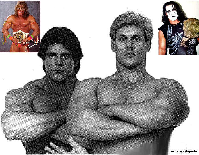Bladerunners before Ultimate Warrior and Sting by rick7777 ...